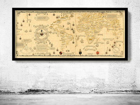Old,Map,of,the,World,1529,Art,Reproduction,Open_Edition,World_map,old_map,antique,atlas,discoveries,explorations,vintage_poster,city_plan,earth_atlas,map_of_the_world,world_map_poster,old_world,vintage_world_map