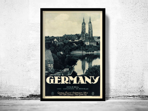 Vintage,Poster,of,Germany,Silesia,Breslau,Travel,Tourism,1930-40,Art,Reproduction,Open_Edition,vintage_poster,travel_poster,touristic_poster,tourism_germany,germany_poster,germany_decor,germany_wall_decor,germany_vintage,deutshland_poster,germany_retro,german_poster,silesia,breslau