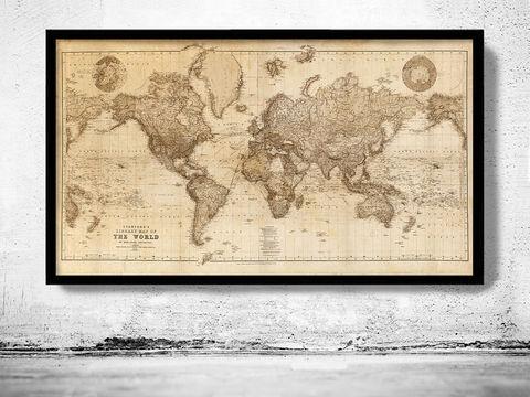 Old,Map,of,the,World,Vintage,Atlas,1898,SEPIA,old map of the world, vintage map of the world, old maps online, old maps for sale, Art,Reproduction,Open_Edition,World_map,old_map,antique,atlas,discoveries,explorations,vintage_poster,city_plan,earth_atlas,map_of_the_world,world_map_poster,old_world,vin