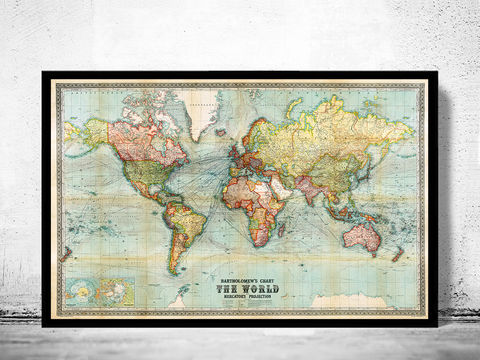 Old,World,Map,Vintage,Atlas,1914,Mercator,projection,old maps of the world, vintage map of the world, old maps online, old maps for sale, Art,Reproduction,Open_Edition,World_map,old_map,antique,atlas,discoveries,explorations,vintage_poster,city_plan,earth_atlas,map_of_the_world,world_map_poster,old_world,vi
