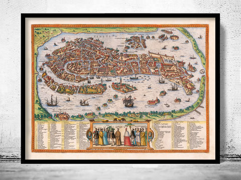 Old,Map,of,Venice,1756,Venetia,Venezia,Art,Reproduction,Open_Edition,plan,venice,Italy,1886,old_map,italia,Veneza,city_plan,vintage_map,map_of_venice,venice_poster,venice_map