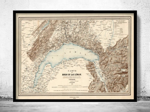 Old,Map,of,Lake,Geneva,Lac,Léman,Switzerland,France,1856,lake leman map, lake geneva map, old map of lake geneva, old switzerland map,Art,Reproduction,Open_Edition,map,vintage,old_map,antique,illustration,Schweiz,switzerland_map,zwitzerland_decor,vintage_switzerland,switzerland_poster,vintage_retro