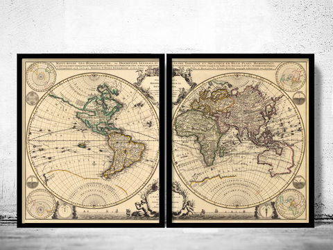 Old,Map,of,the,World,1703,Vintage,world map poster,Art,Reproduction,Open_Edition,World_map,atlas,Asia,europe,america,oceania,vintage_map,old_world_map,globe,antique_map,antique_world_map,world_old_map,map_of_the_world
