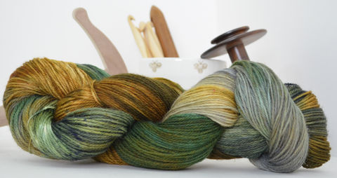 Visits,with,Marigold,~,Downton,Abbey,Inspired,Downton Abbey, yarn, handyed, kettle dyed