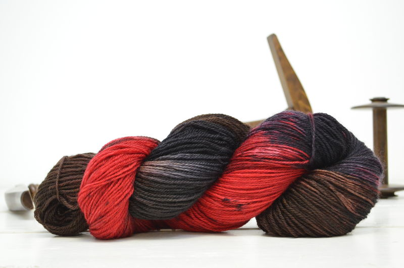 Souffle Girl ~ Dr. Who Inspired Yarn - product image