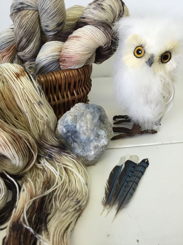 I'll Await Your Owl ~ Harry Potter Inspired Yarn - product image