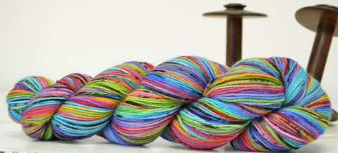 Soot,Sprites,Love,Rainbows,yarn, hand dyed, wool