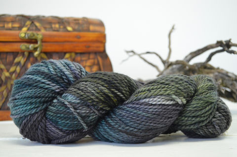 Mirkwood,~,Hobbit,Inspired,Yarn, yarn, superwash, handdyed, kettle dyed, Mirkwood, middle earth, lord of the rings