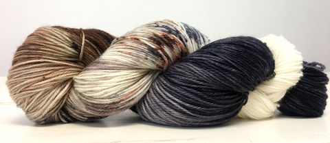 Direwolves,~,Game,of,Thrones,Inspired,Yarn,yarn , hand dyed, Game of Thrones, direwolves, dire wolf