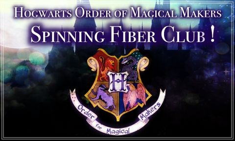 Hogwarts,Order,of,Magical,Makers,Fiber,Club,~,June,2020,Sign-ups,OPEN,Harry potter yarn, Hogwarts yarn, magical yarn, inspired yarn, geek yarn, nerdy yarn,