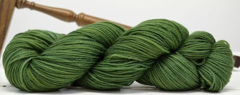 Juniper,yarn, hand dyed, wool