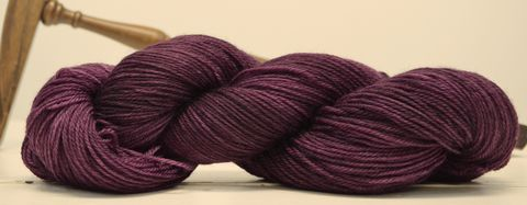 Plum,Pudding,yarn, hand dyed, wool