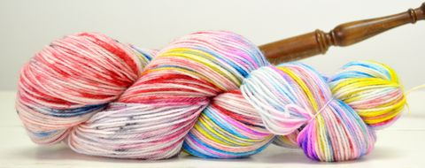 Full,Send,yarn, hand dyed, wool