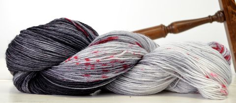 Hunting,with,Baby,~,Supernatural,Inspired,Yarn,yarn, hand dyed, wool, supernatural, supernatural yarn, the winchesters