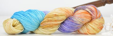 Caribbean,Queen,yarn, kettle dyed, Harry Potter, Potions