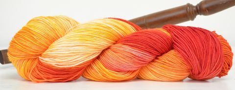 Burning,Desire,yarn, kettle dyed, Harry Potter, Potions