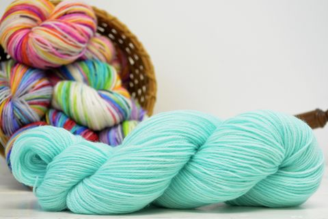 Seafoam,yarn, kettle dyed, Harry Potter, Potions