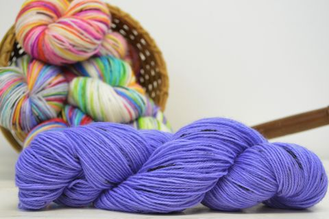 Pixie,Sticks,~,with,Speckles,yarn, kettle dyed, indiedyed yarn, solid yarn, tonal yarn
