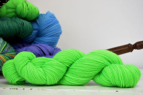 Sprout,yarn, kettle dyed, indiedyed yarn, solid yarn, tonal yarn