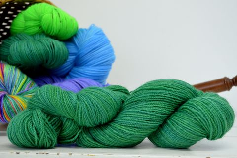 Emerald,Isle,yarn, kettle dyed, Harry Potter, Potions