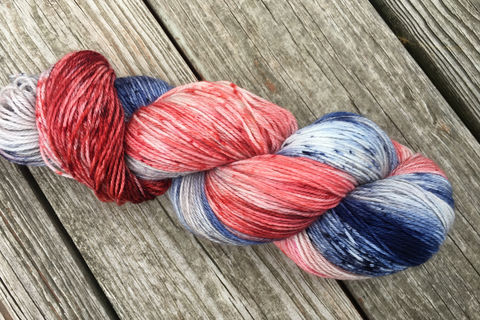All,American,Pie,yarn, kettle dyed, speckled yarn, speckle yarn