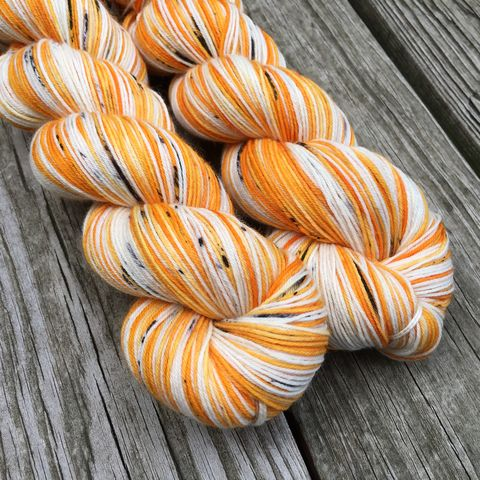 Candy,Corn,yarn, hand dyed, wool, autumn yarn, fall yarn