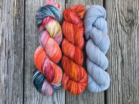 Turas-Mara,Shawl,Pack,~Netherfield,Ball,turas-mara shawl, trio yarn, fade yarn, shawl yarn, outlander yarn