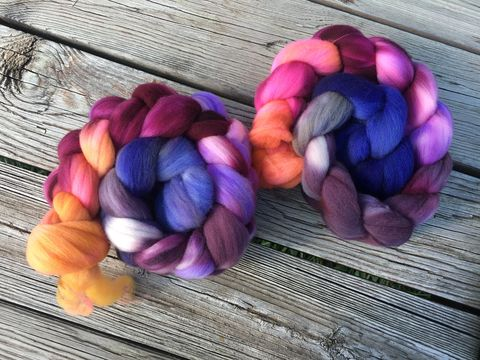 Looney,Lovegood,~,Top,top, Targhee,, wool, spin