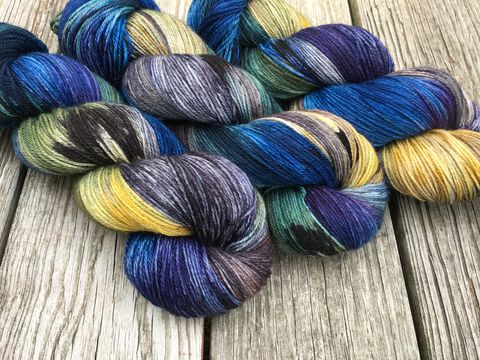 Prisoner,of,Azkaban,~,Harry,Potter,Inspired,Yarn,yarn, Hand dyed, kettle dyed, Harry Potter, Prisoner of Azkaban, Professor Lupin