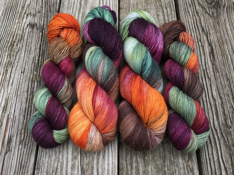 Shortcut to the Mushrooms ~ Tolkien Inspired Yarn - product image