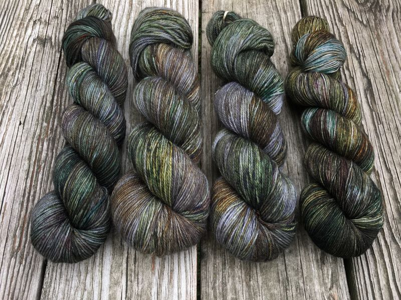 The Old Forest ~ Lord of the Rings Inspired Yarn - product image