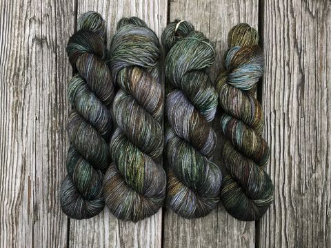 The,Old,Forest,~,Lord,of,the,Rings,Inspired,Yarn,Hobbit, yarn, superwash, handdyed, kettle dyed, Mirkwood, middle earth, lord of the rings
