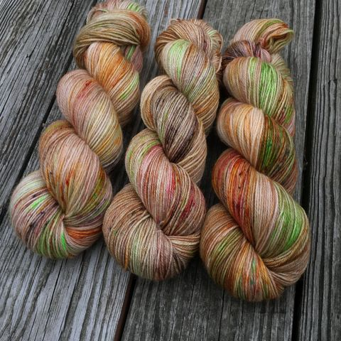 Hagrid's,Fruit,Cake,~,Harry,Potter,Inspired,yarn, hand dyed, wool, christmas yarn, harry potter yarn, yule ball