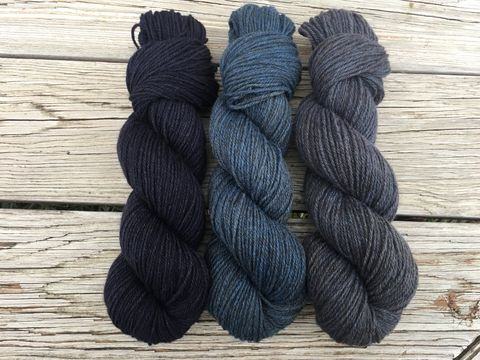 Pygora,DK,'17~,Blue,Blood,cormo, colored cormo, yarn, wool ,cormo yarn, pygora yarn, dk yarn, farm yarn, natural yarn, type c, pygora