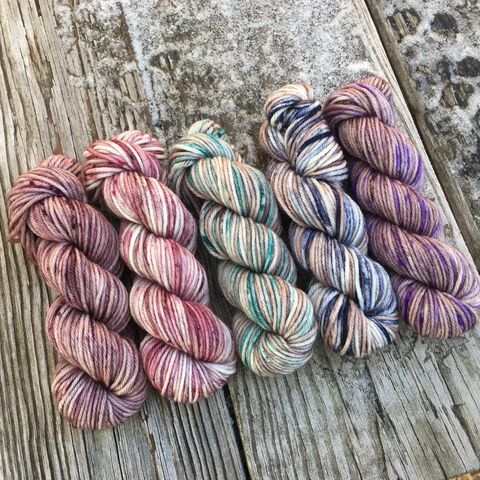 My,Jam,Squishy,DK,Mini,Skein,Pack,mini skeins, minis, yarn minis, sample yarns , sample pack , sample skeins, dk minis, dk mini skein, dk yarn, dk sample skeins