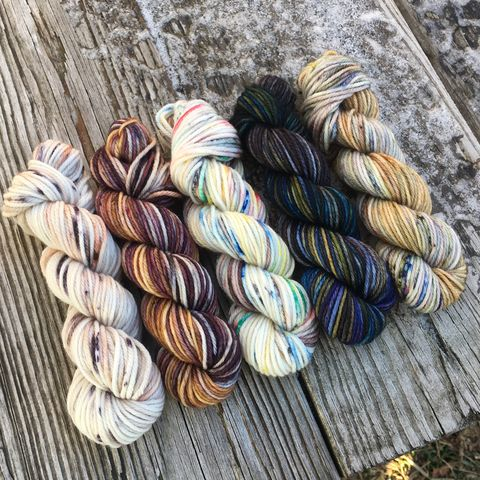 Only,at,Hogwarts,Squishy,DK,Mini,Skein,Pack,mini skeins, minis, yarn minis, sample yarns , sample pack , sample skeins, dk minis, dk mini skein, dk yarn, dk sample skeins