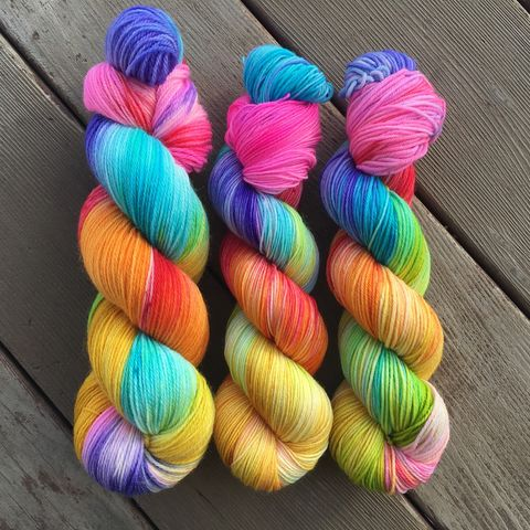 *ONLINE,ONLY*,Candy,Land,yarn, Hand dyed, kettle dyed, handdyed, indie yarn, alaskan lights, northern lights, aurora borealis