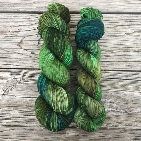 Lorna,Doone,yarn, kettle dyed, Leap Year, Potions