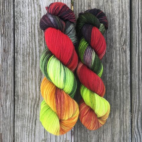 Targaryen,2.0,~,Game,of,Thrones,Inspired,Yarn,yarn, Hand dyed, kettle dyed, Game of Thrones, game of thrones yarn, wool, handdyed