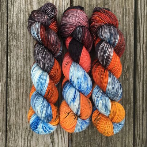 Dracarys,~,Game,of,Thrones,Inspired,Yarn,yarn , hand dyed, Game of Thrones, dracarys, sock yarn, dk, fingering, sock, variegated, bumblebee acres