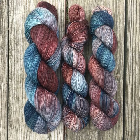 Arya,~,Game,of,Thrones,Inspired,Yarn,yarn , hand dyed, Game of Thrones, arya yarn, stark yarn, game of thrones,