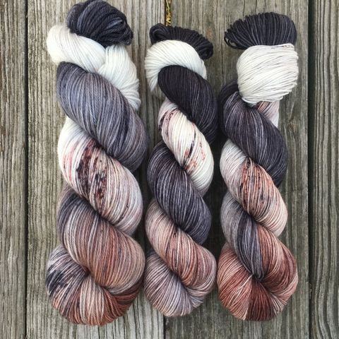 *ONLINE,ONLY*,Direwolves,~,Game,of,Thrones,Inspired,Yarn,yarn , hand dyed, Game of Thrones, direwolves, dire wolf, dire wolf yarn, ghost yarn, game of thrones yarn