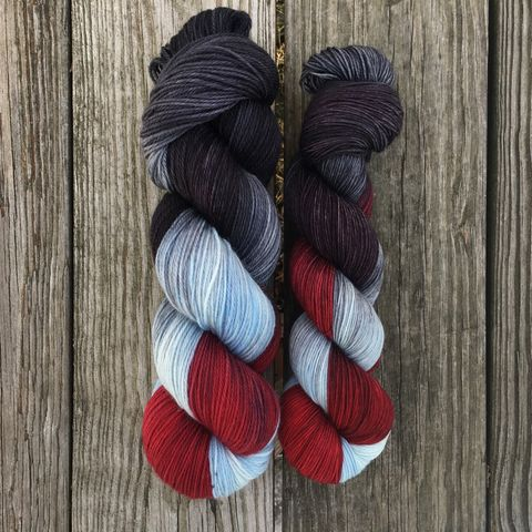 *ONLINE,ONLY*,Ramsay,Bolton,~,Game,of,Thrones,Inspired,Yarn,yarn, Hand dyed, kettle dyed, Game of Thrones, game of thrones yarn, wool, handdyed, sand snakes, sandsnakes, martell, house martell
