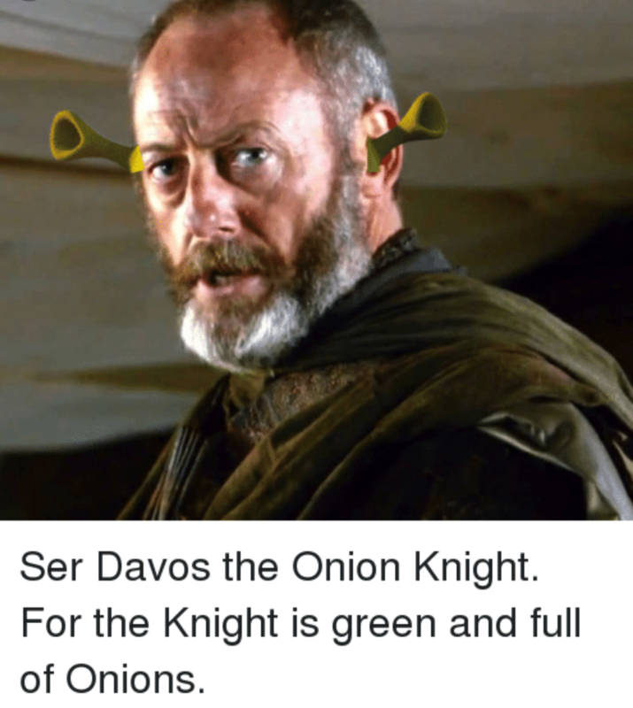 *ONLINE ONLY* Ser Davos the Onion Knight ~ Game of Thrones Inspired Yarn - product image
