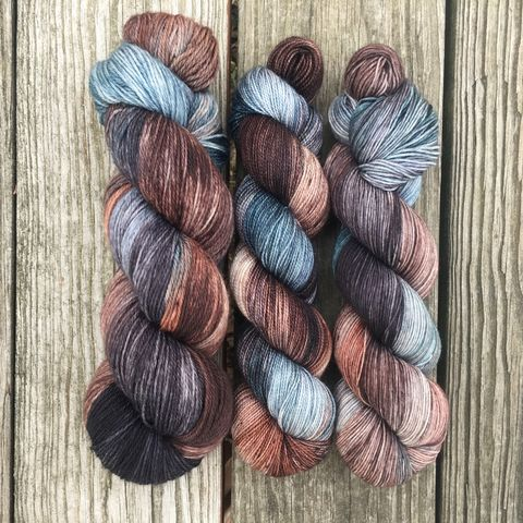 Bran,~,Game,of,Thrones,Inspired,Yarn,yarn, Hand dyed, kettle dyed, Game of Thrones, game of thrones yarn, wool, handdyed, bran stark, bran, brandon stark, stark yarn