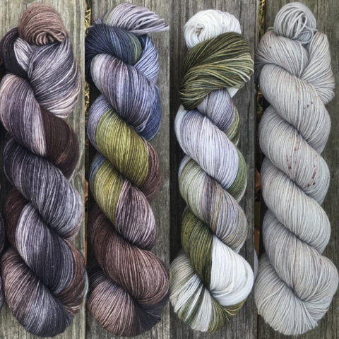 Iron,Islands,FADE,KIT,~,Game,of,Thrones,Inspired,Yarn,yarn, Hand dyed, kettle dyed, Game of Thrones, game of thrones yarn, wool, handdyed, fade kit, find your fade, so faded, comfort fade