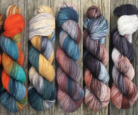 Winter,is,Coming,FADE,KIT,~,Game,of,Thrones,Inspired,Yarn,yarn, Hand dyed, kettle dyed, Game of Thrones, game of thrones yarn, wool, handdyed, fade kit, find your fade, so faded, comfort fade