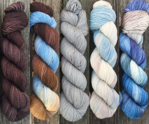 Targaryen,Takeover,FADE,KIT,~,Game,of,Thrones,Inspired,Yarn,yarn, Hand dyed, kettle dyed, Game of Thrones, game of thrones yarn, wool, handdyed, fade kit, find your fade, so faded, comfort fade