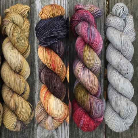 Deadly,Allies,FADE,KIT,~,Game,of,Thrones,Inspired,Yarn,yarn, Hand dyed, kettle dyed, Game of Thrones, game of thrones yarn, wool, handdyed, fade kit, find your fade, so faded, comfort fade