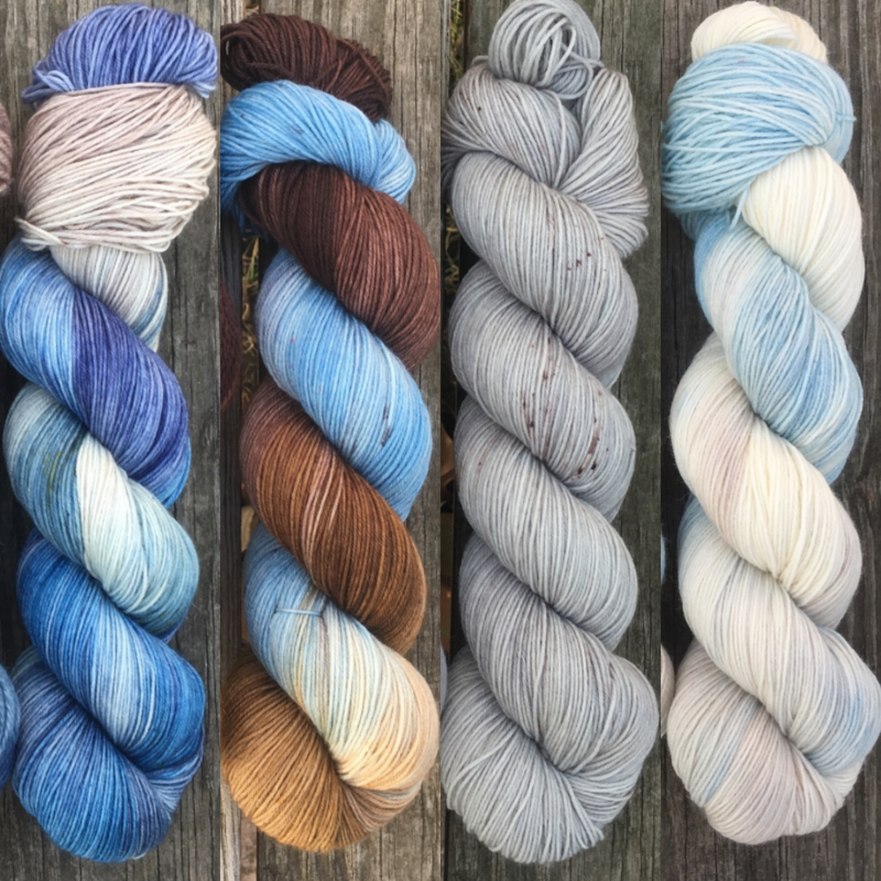 Across the Narrow Sea FADE KIT ~ Game of Thrones Inspired Yarn - product images